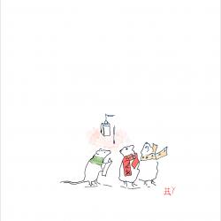 Mice-Choir-with-frame