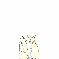 Rabbits-Conversing