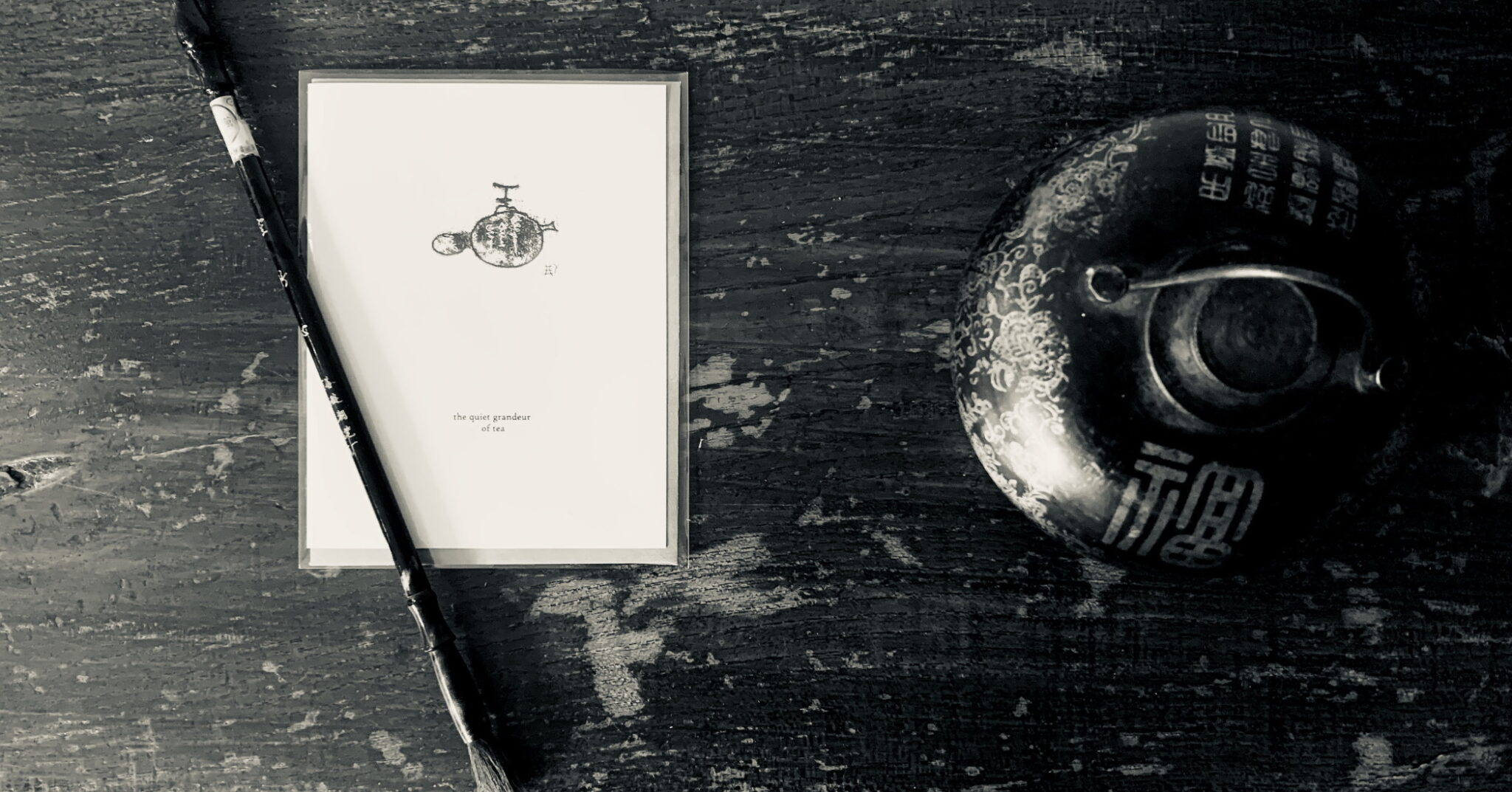 Artist made Greeting Cards with ink on paper