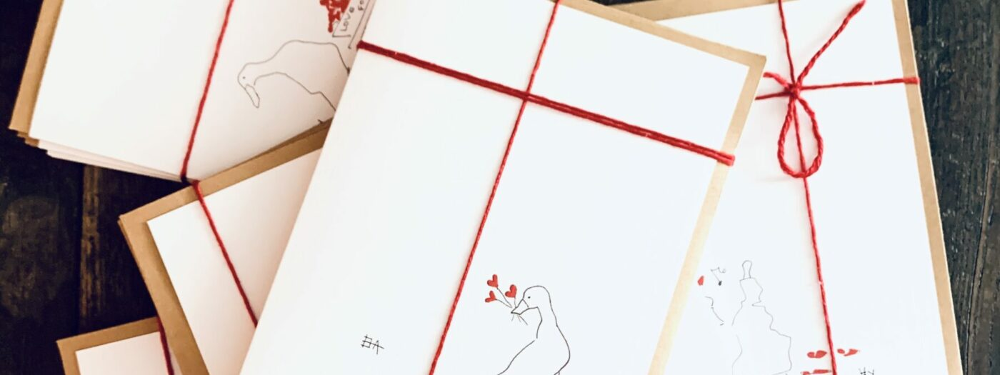 Love for Sale greeting card series